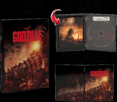 Godzilla FuturePak with sound and light